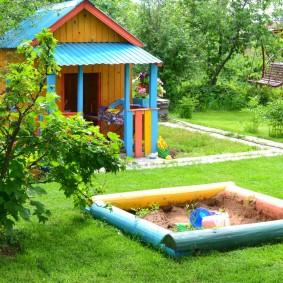 искусственный газон для дачи декор
