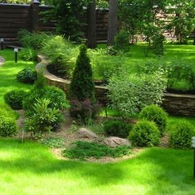 искусственный газон для дачи фото варианты