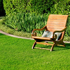 искусственный газон для дачи фото идеи