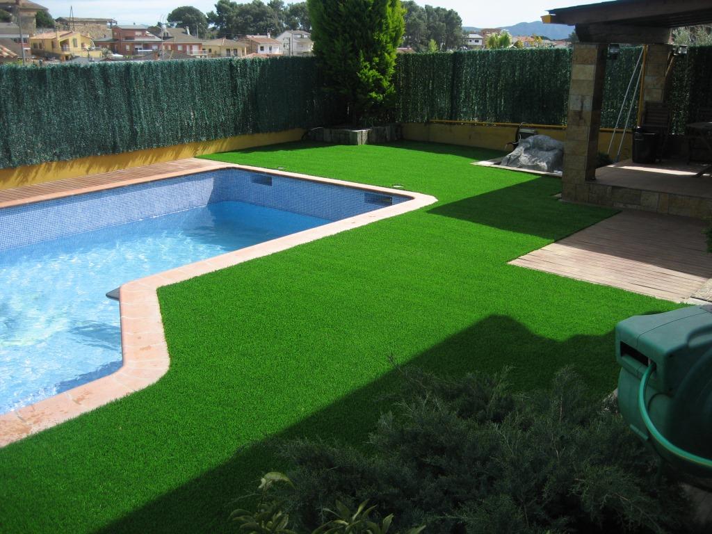 искусственный газон для двора