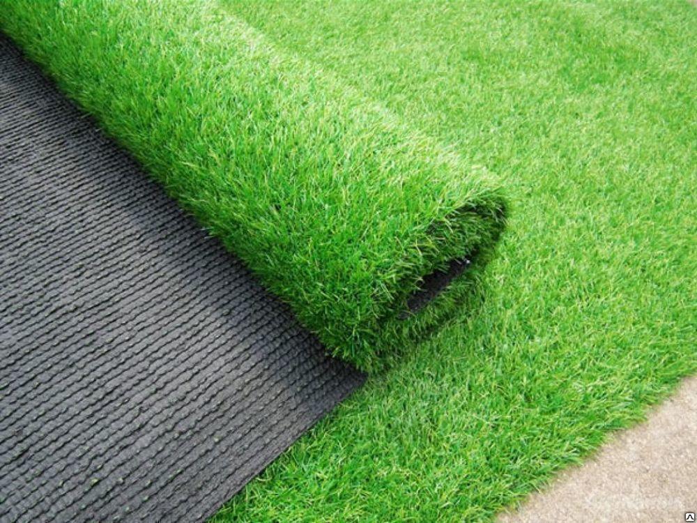 искусственный газон в рулонах