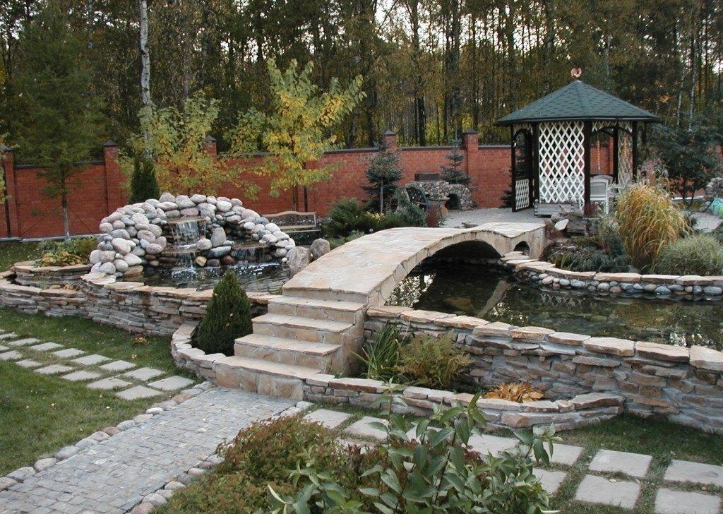 каменный мостик фото