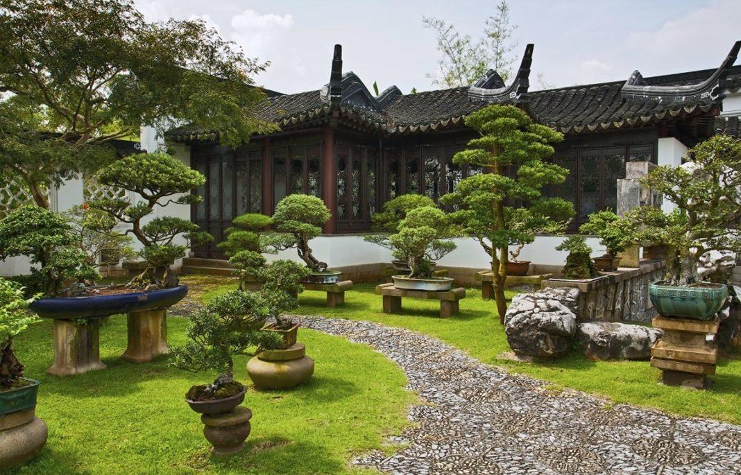 китайский ландшафтный стиль