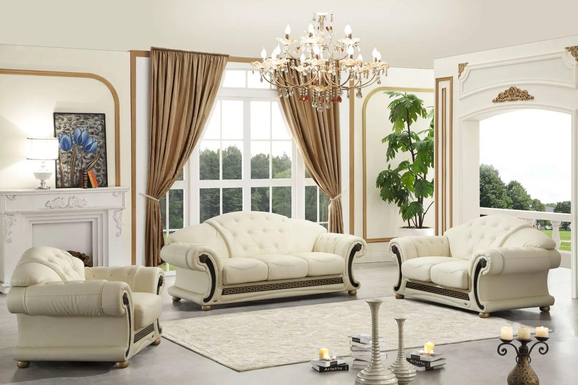 классические диваны в гостиной виды
