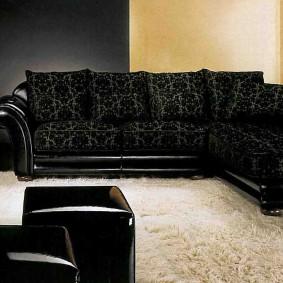 классические диваны угловые фото