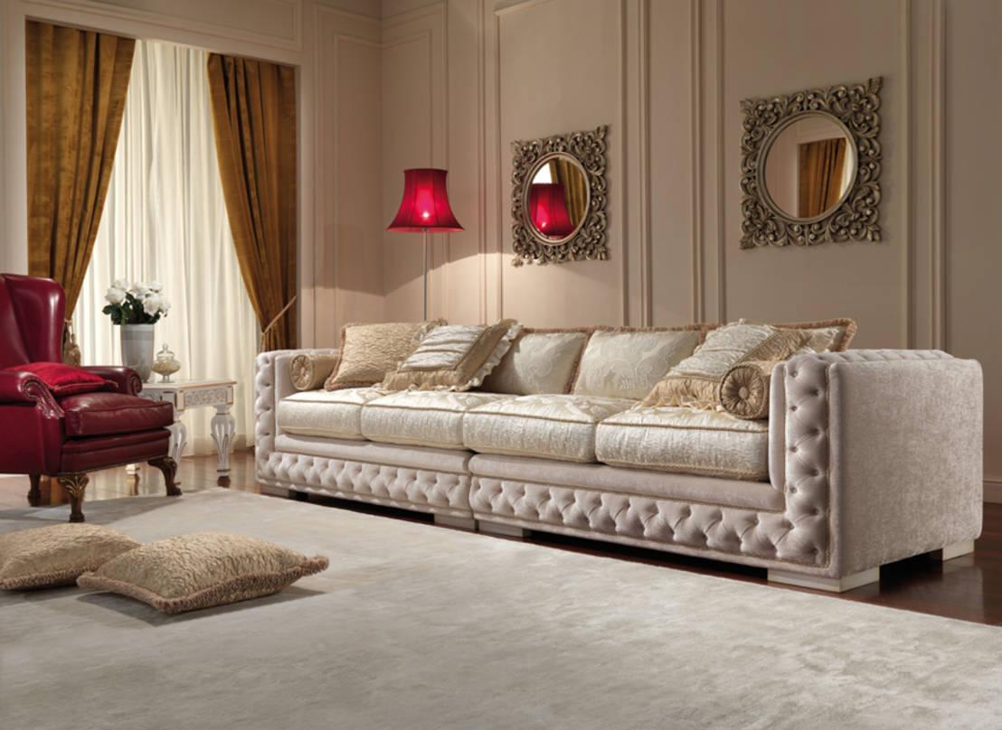 классический диван в гостиной идеи фото