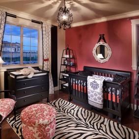 комната для новорожденного идеи интерьера