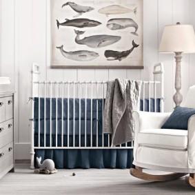 комната для новорожденного фото виды