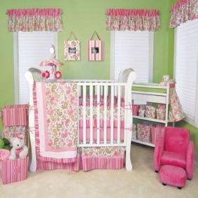 комната для новорожденного идеи оформление