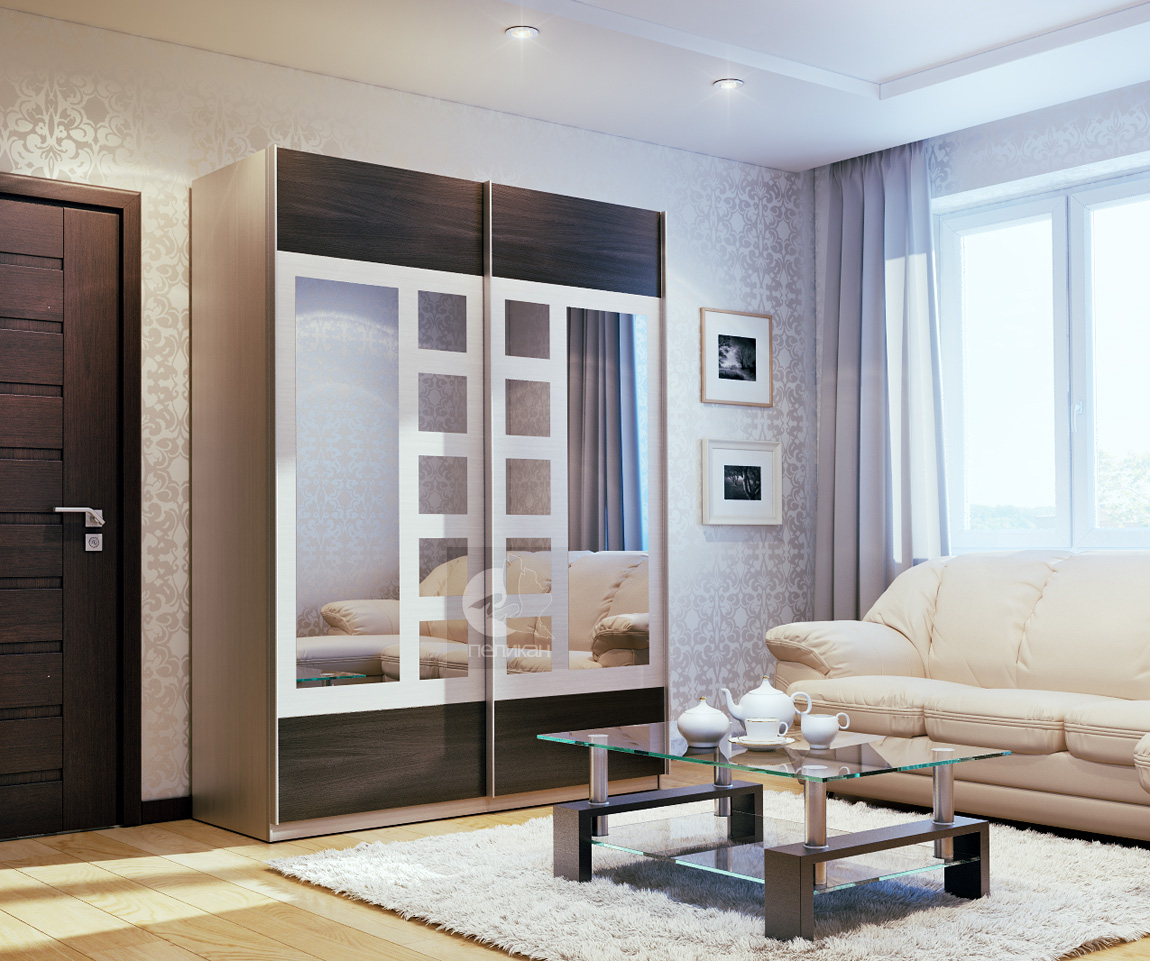 делает дверь посередине комнаты фото крупный
