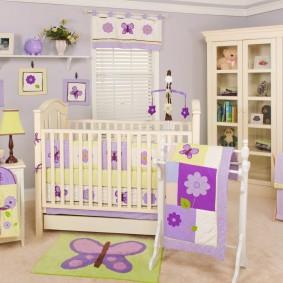 комната для новорожденного идеи дизайна