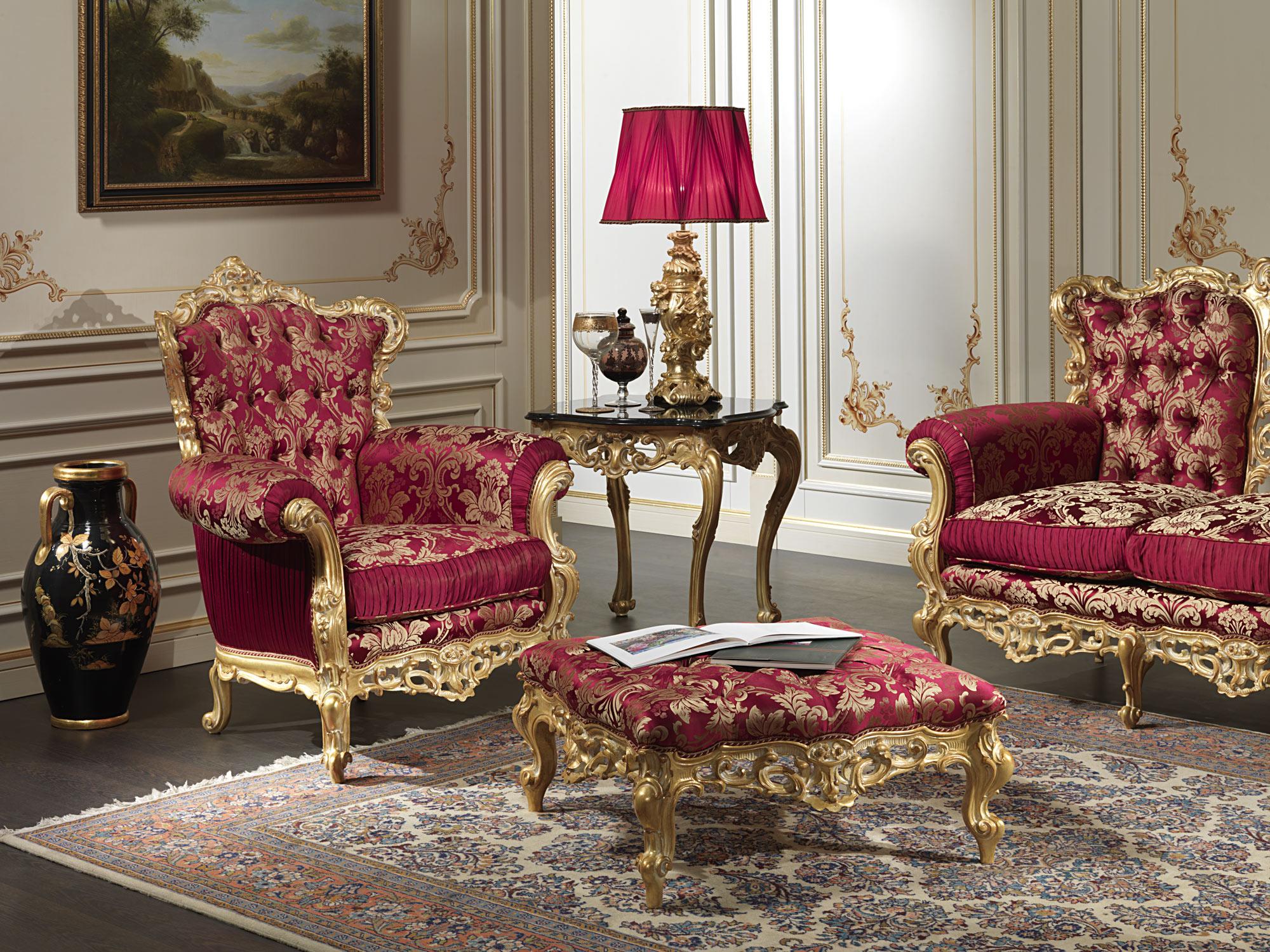 кресла в гостиную барокко