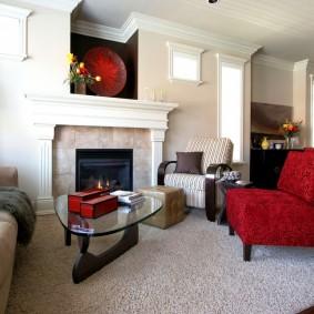 кресло для гостиной и зала дизайн идеи