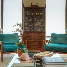 кресло для гостиной и зала фото декора