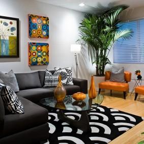 кресло для гостиной и зала фото интерьера