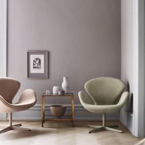кресло для гостиной и зала оформление фото