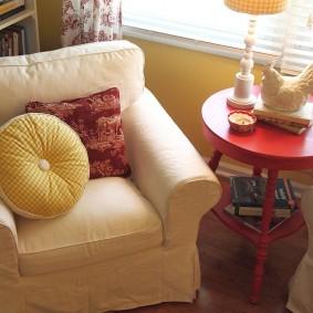 кресло для гостиной и зала фото оформление