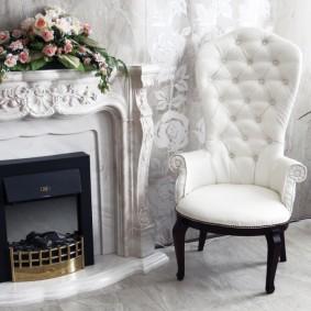 кресло для гостиной и зала фото видов