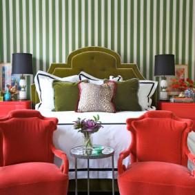 кресло для гостиной и зала оформление идеи