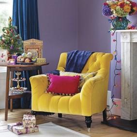 кресло для гостиной и зала виды идеи