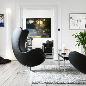 кресло для гостиной и зала идеи виды