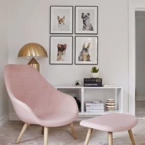 кресло для гостиной и зала виды дизайна