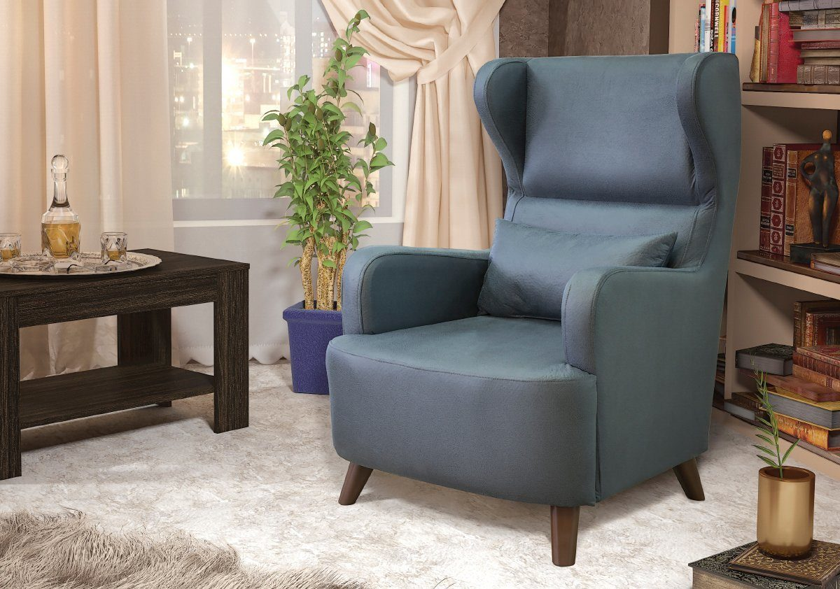 кресло в гостиную флок