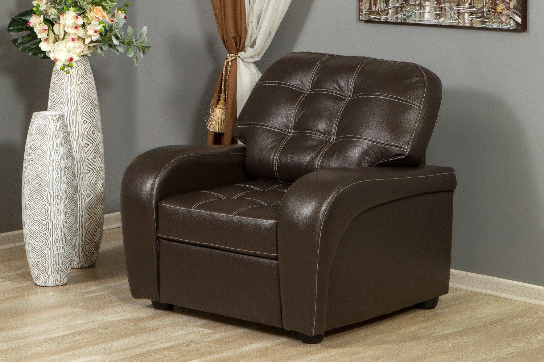 кресло в гостиную кожаное