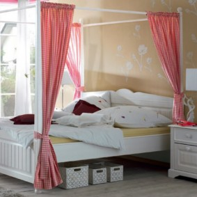 кровать для девочки идеи дизайн