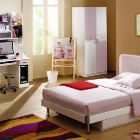 кровать для девочки идеи дизайна