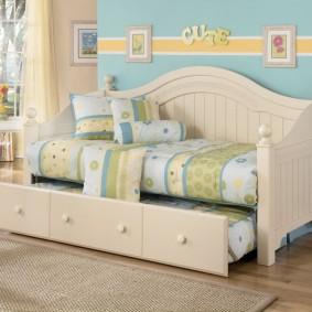 кровать для девочки интерьер идеи