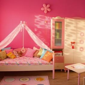 кровать для девочки идеи интерьер