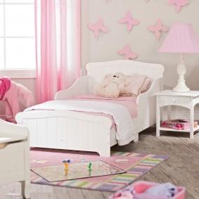 кровать для девочки идеи интерьера