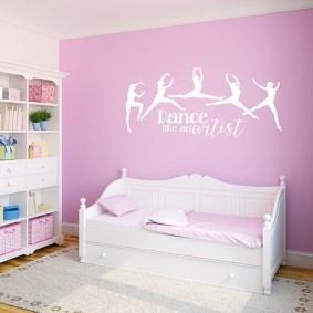 кровать для девочки оформление идеи