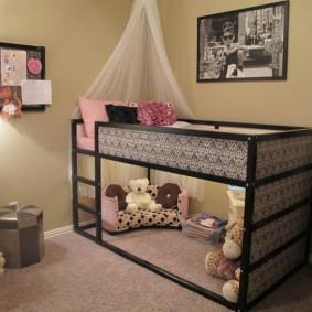кровать для девочки идеи варианты