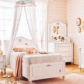 кровать для девочки идеи