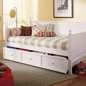 кровать для девочки идеи оформление