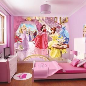 кровать для девочки идеи оформления