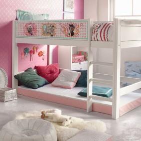 кровать для девочки варианты