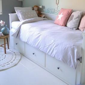 кровать для девочки фото варианты