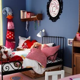 кровать для девочки виды