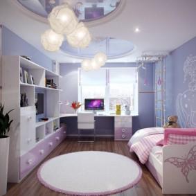 кровать для девочки виды идеи