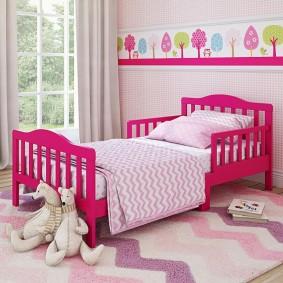 кровать для девочки фото идеи