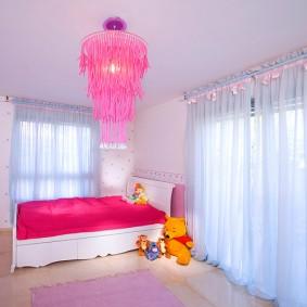 кровать для девочки виды дизайна