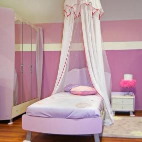кровать для девочки фото дизайна