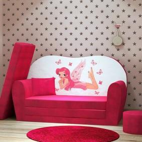 кровать для девочки дизайн идеи