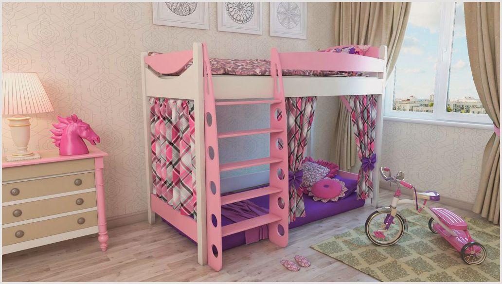 кровать для девочки чердак