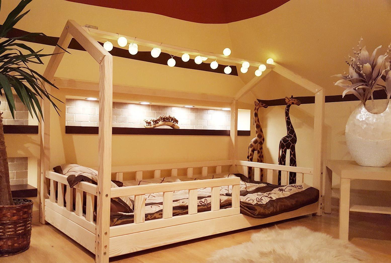 кровать для девочки дерево