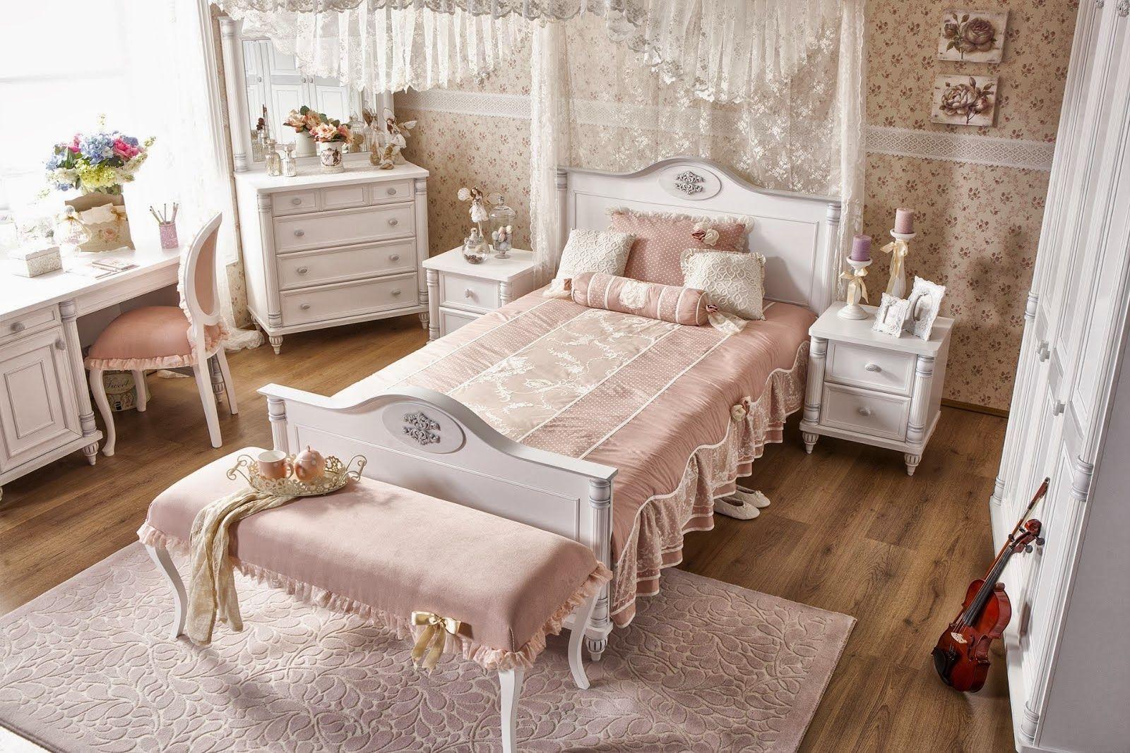 кровать для девочки классический стиль