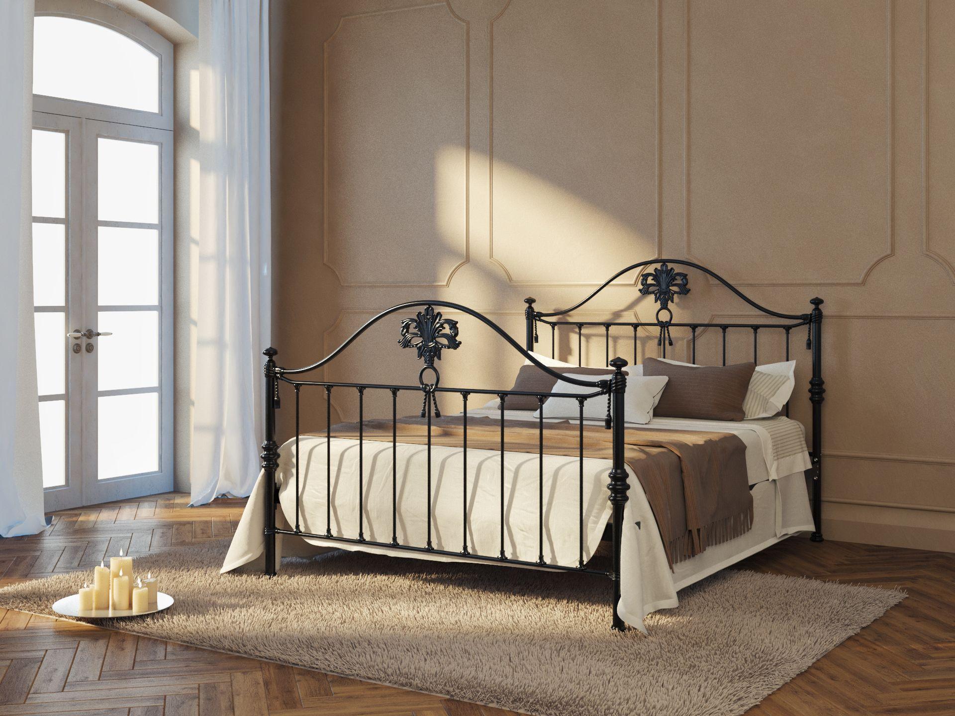 кровать для девочки металлическая